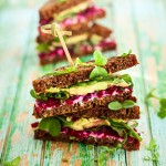 Beet-&-Chive-Cream-Cheese-Sandwich-vertical