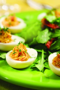 Deviled Eggs with PimentoCheese-Mar2013