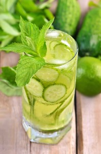 Cucumber-Mint-Lemonade