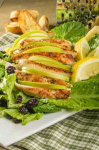 Apple, Cranberry & Lemon Pepper Chicken Salad