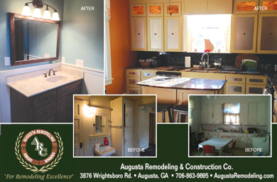 Augusta remodeling and construction inc columbia for Bath remodel augusta ga