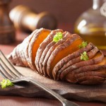 Baked-Hasselback-Sweet-Potatoes