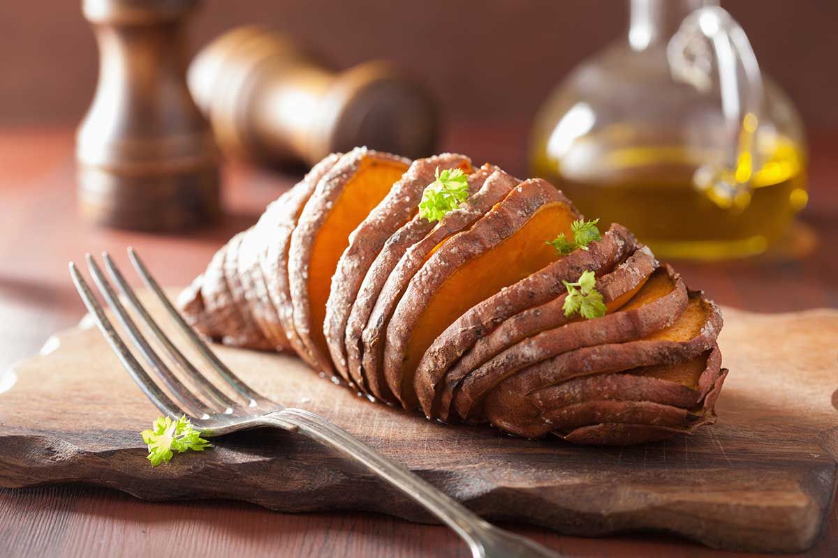 ... try hasselback sweet potatoes hasselback sweet potatoes recipe yummly