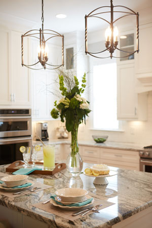 Kitchen-Island-Place-Settings