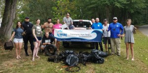 Underwater Cleanup Dive
