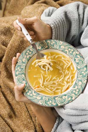 Flu remedy Chicken soup