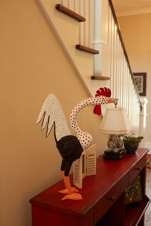 Hallway-Rooster-On-Table-1