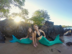 2. Mother Daughter Mermaids - credit Hawaii Mermaid Adventures