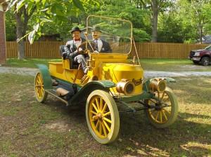 3. 1911 Stanley Steamer
