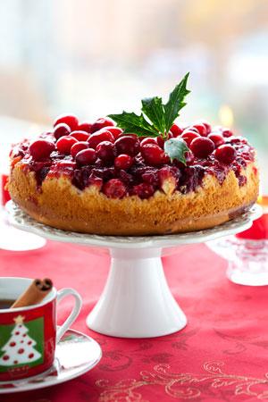 Cranberry-Upside-Down-Cake