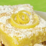 double lemon bar