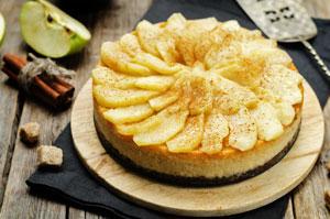 No-Bake-Caramel-Apple-Cheesecake