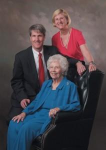 Clockwise from top - Kathy Sizemore Anderson, Secretary/Treasurer, June Sizemore Fouche, Stockholder & Board Member, and Preston E. Sizemore, president & CEO