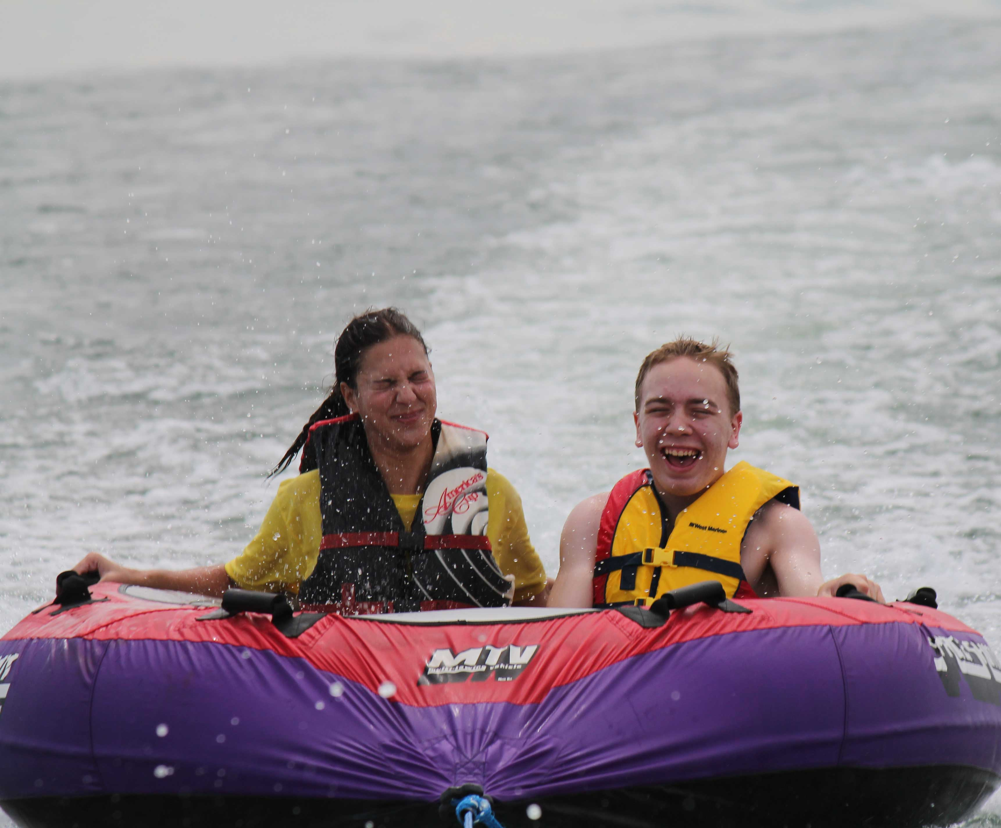 Adaptive Water Skiing Clinic Volunteers