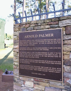 3.-Landmark--Arnold-Palmer-Plaque-behind-No.-16-tee