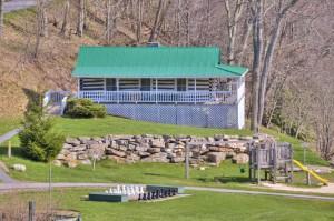 Baby's Cabin aka Virginia cottage courtesy Mountain Lake Lodge
